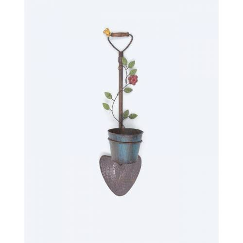 HSE Gartenschaufel mit Pflanzentopf