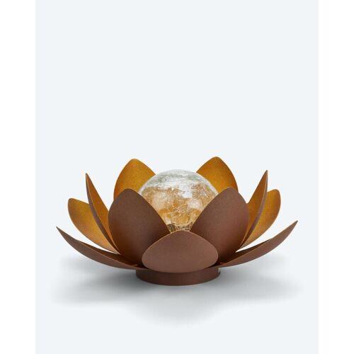HSE Lotusblume mit LED-Kugel