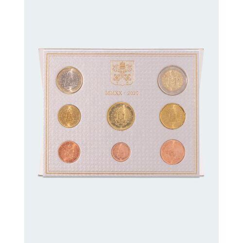 Sammlermünzen Reppa Vatikan Kursmünzensatz 2020