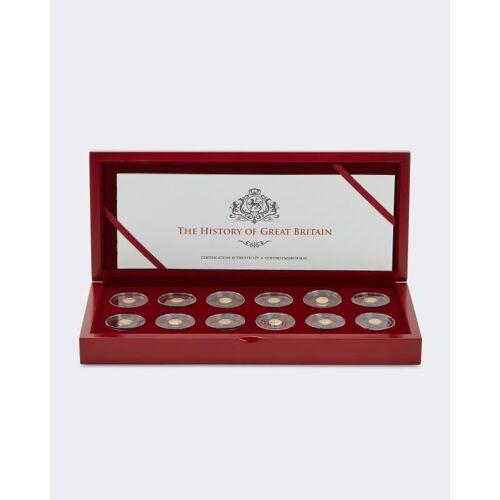Sammlermünzen Reppa Goldmünzen 12er-Set Great Britain 2020