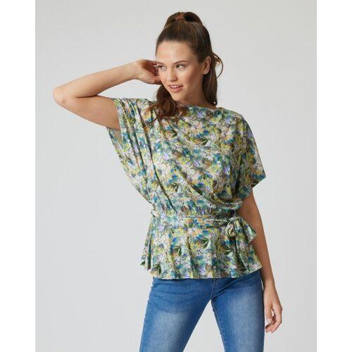 Janaina FASHION Shirt mit Gürtel bunt