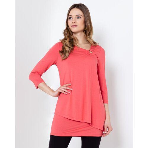 Nala Shirt mit asymetrischem Saum
