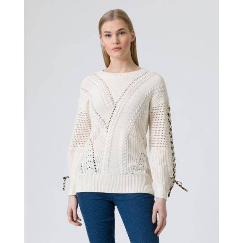 BE GOLD Pullover Grobstrick