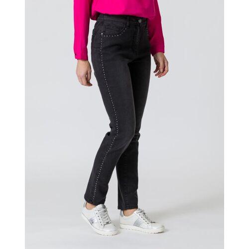 Maloo Jeans mit Strassstein-Deko