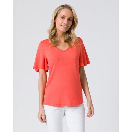 Pfeffinger Shirt mit Flügelärmeln papaya