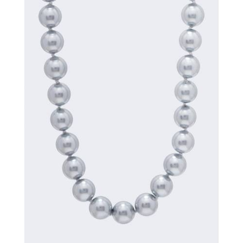 Pfeffinger Collier MK-Perlen 12 mm tahiti grau