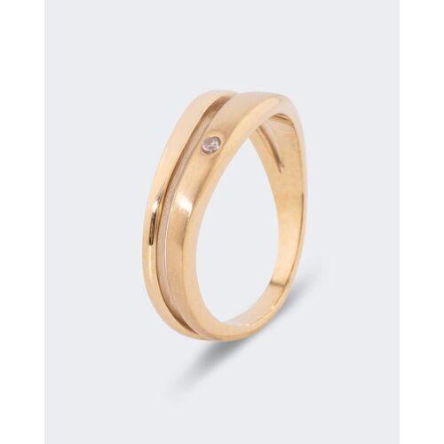 "Soley Magnet-Ring ""polar stjärna"" mit Swarovski Kristallen"