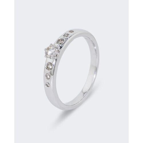 Diamantaire Brillantring 0,33 ct