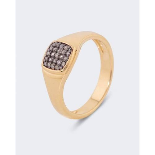 Harry Ivens Diamantring 0,12 ct champagner