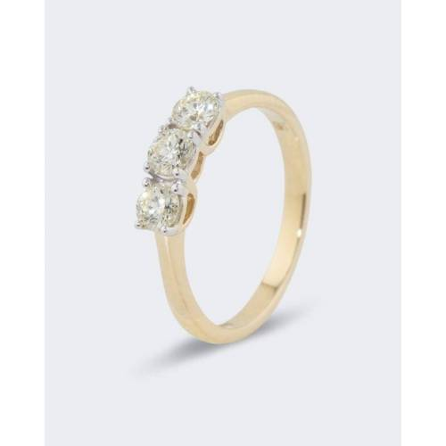 Diamantaire Brillantring mit 0,70 Karat