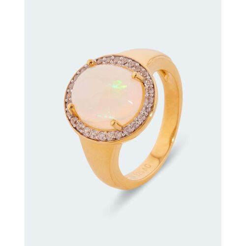 Harry Ivens Ring mit Äthiopischem Opal