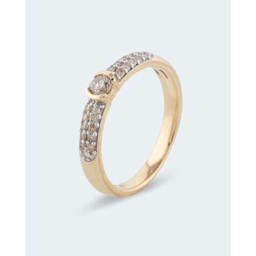 Diamantaire Brillantring 0,35 ct