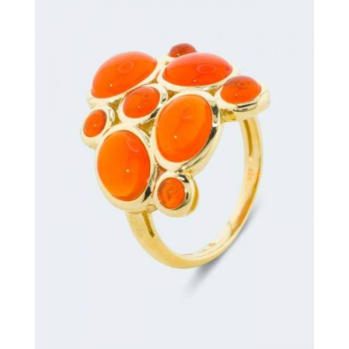 Terra Opalis Ring mit Feueropal