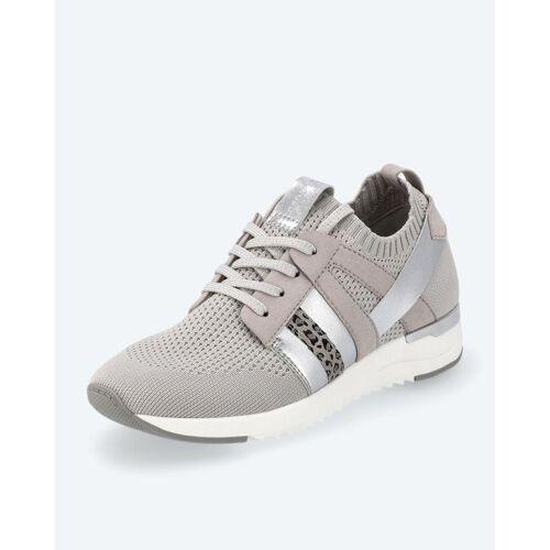 BE GOLD Strick-Sneaker grau