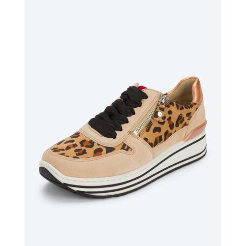 ara Sneaker mit Animal-Print leopard