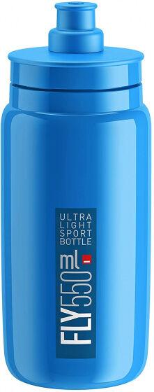 Elite wasserflasche Fly 550 ml blau