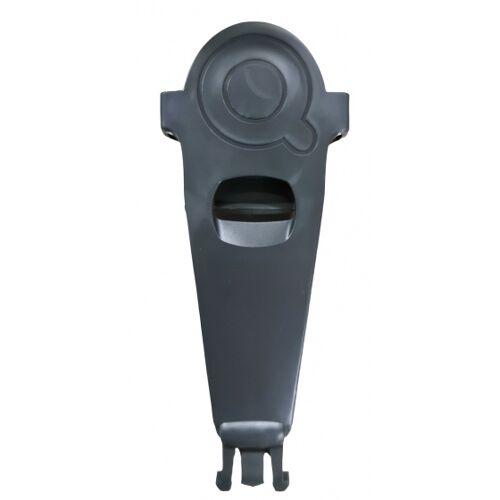 Qibbel gürtelclip für Fahrradsitz vorne und hinten 15 cm grau