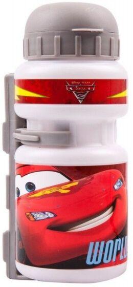 Disney Flasche mit Flaschenhalter Cars weiß / rot 500 ml