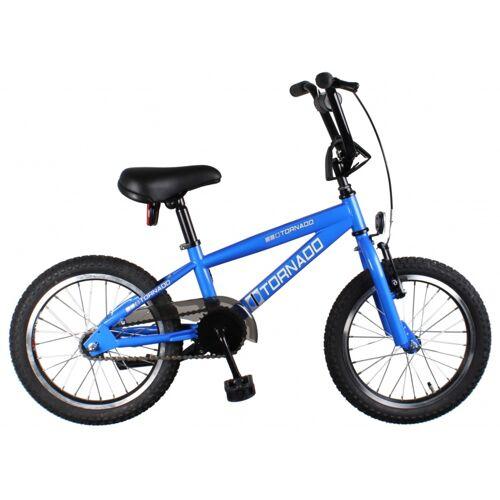 Bike Fun Cross Tornado 16 Zoll 34 cm Junior Rücktrittbremse Blau