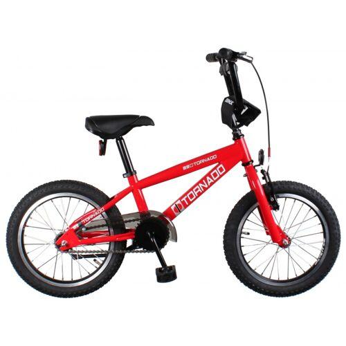 Bike Fun Cross Tornado 16 Zoll 34 cm Junior Rücktrittbremse Rot