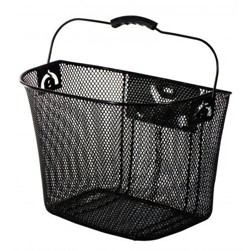 AMIGO fahrradkorb 13 Liter für Stahl schwarz