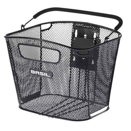 Basil fahrradkorb Bold KF für 25 Liter Stahl schwarz