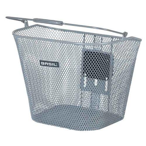Basil fahrradkorb Bremen KF für 23 Liter Stahl silber