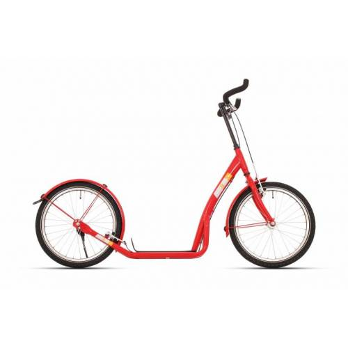 Bike Fun step 20 Zoll Unisex Felgenbremse Rot