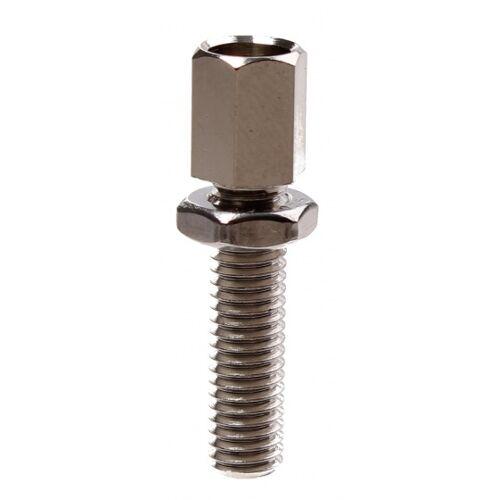 Bofix Justierschrauben M6 x 32 mm 25 Silberstücke