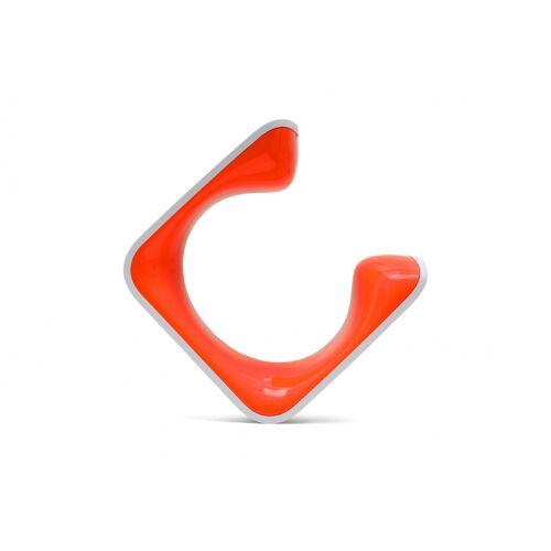 Clug fahrradträger 9,9 x 5,5 cm orange/weiß