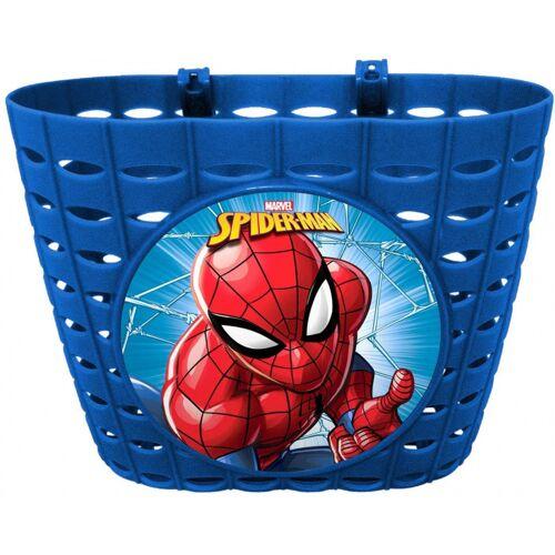 Disney fahrradkorb Spider Man Jungen 12 x 20 cm blau