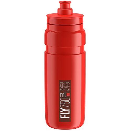 Elite wasserflasche Fly 750 ml rot