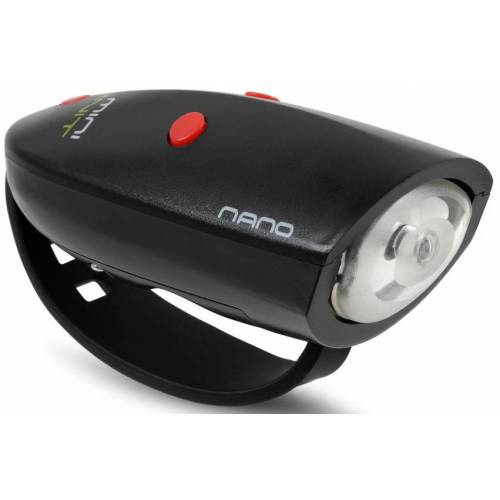 Hornit fahrradlicht Nano 9 x 4 x 3,5 cm Kunststoff schwarz/rot