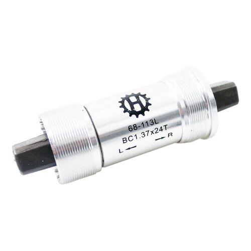 Hulzebos tretlager BSA 113 x 35 mm silber