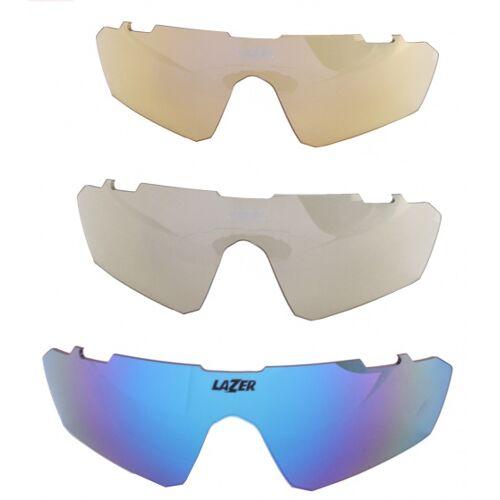 Lazer brillen Set Fahrradbrillen M3Eddy blau 3 teilig