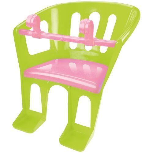Lena puppensitz 23 x 23 x 27 cm grün/rosa