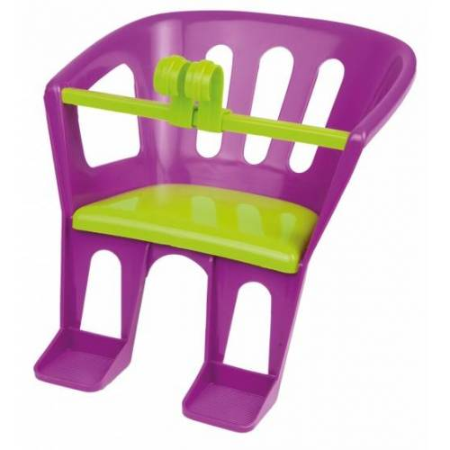 Lena puppensitz 23 x 23 x 27 cm lila/grün