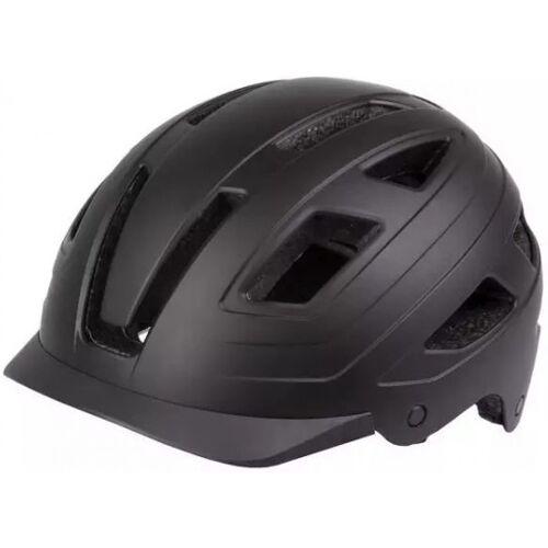 M-Wave M Wave fahrradhelm Urban 400 Gramm ABS matt schwarz mt 55 58 cm