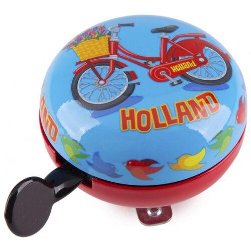 Matix fahrradglocke Holländisches Fahrrad 80 mm Stahl blau/rot
