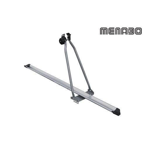 Menabo Top Bike Fahrrad Dachgepäckträger 1 Fahrrad silber
