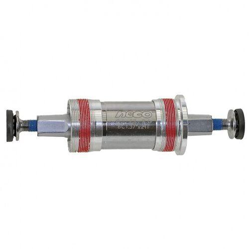 Neco tretlager Shimano JIS 113,5 / 31 mm silber