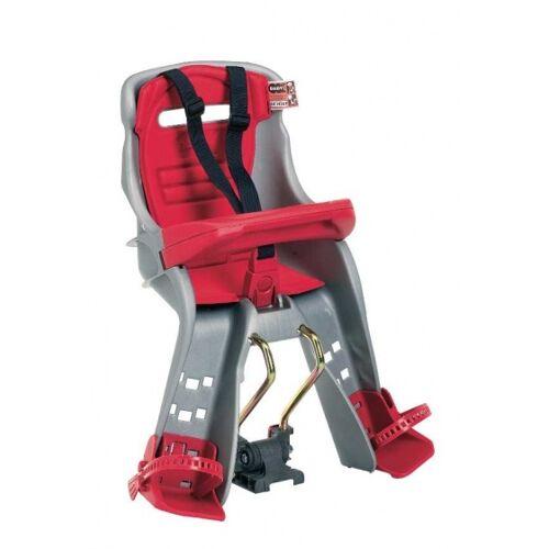 OK Baby fahrradsitz für Oriongrau/rot