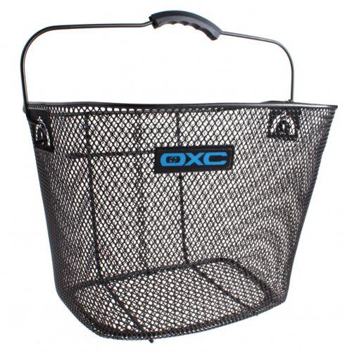 OXC fahrradkorb für 23 Liter Stahl mit schwarzen Halterungen