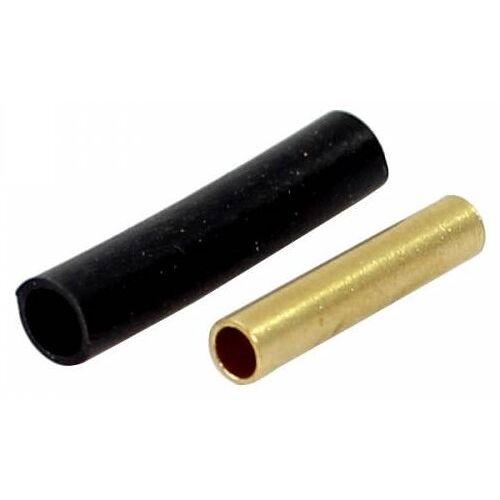 Spanninga Kabel Stecker Fahrradlicht Kabel schwarz / gold 100 Stück