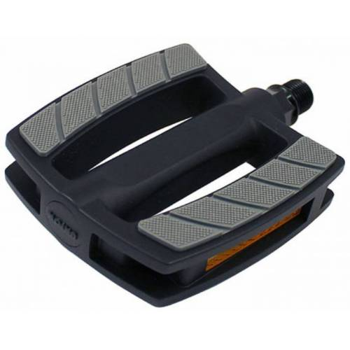 Union pedal Elektrofahrrad 9/16 PVC schwarz