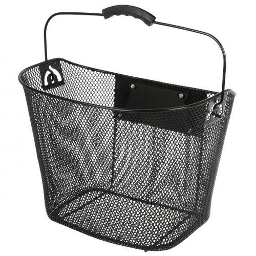 Ventura fahrradkorb für verstellbare 22 Liter schwarz