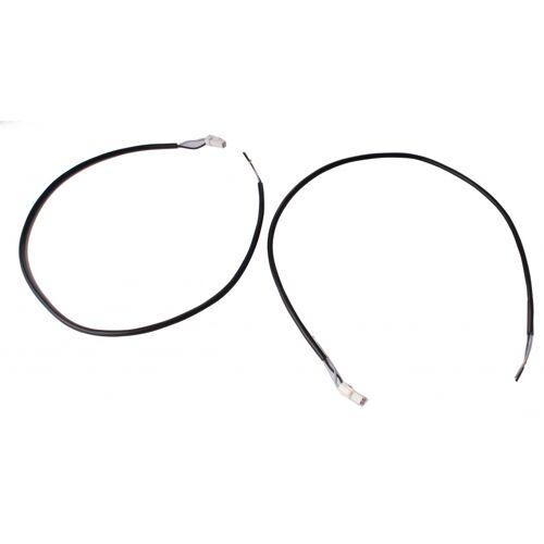 Vision e Bike Lichtkabel 500 mm schwarz 2 Stück