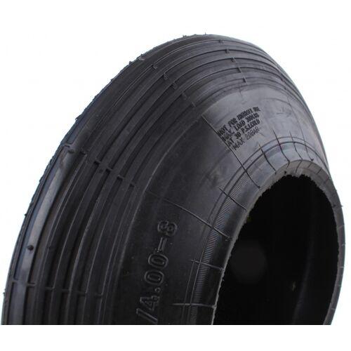 TOM Reifen 400 x 8 Linienprofil schwarz