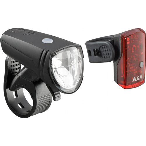 AXA Beleuchtung Greenline 15 Batterie   LED schwarz