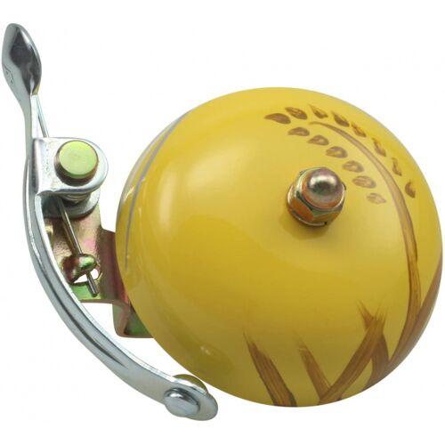 Crane fahrradklingel Suzu Aki 5 x 5,5 cm Stahl gelb